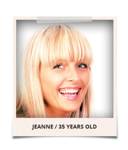 Jeanne 35 years old